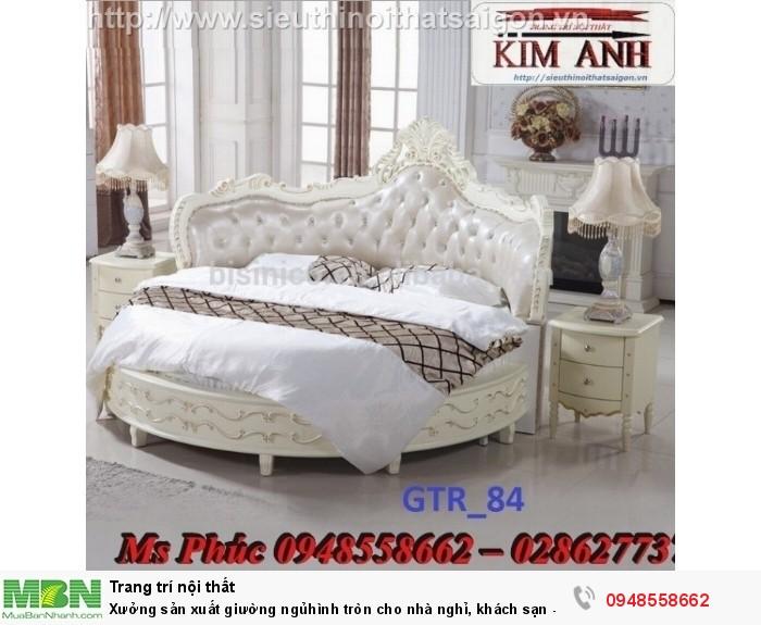Xưởng sản xuất giường ngủ hình tròn cho nhà nghỉ, khách sạn - nội thất Kim Anh sài gòn28