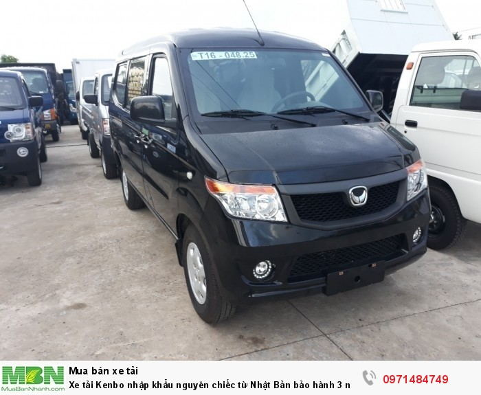 Xe tải Kenbo nhập khẩu nguyên chiếc từ Nhật Bản  bảo hành 3 năm tặng tỳ hưu Tài lộc