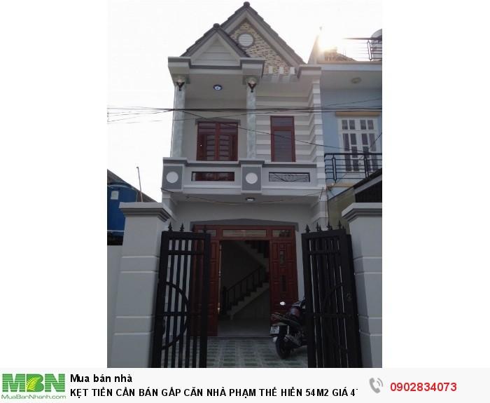 Nhà kẹt tiền cần bán gấp căn nhà Phạm Thế Hiển giá 4,1 tỷ