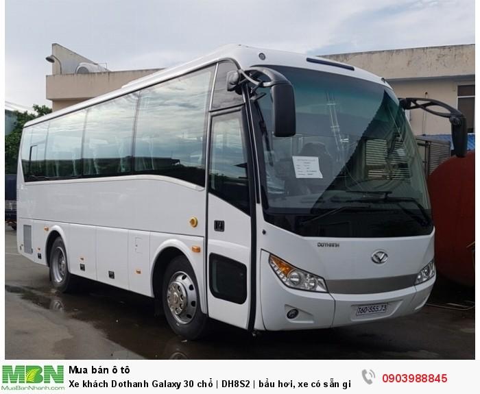 Xe khách Dothanh Galaxy 30 chổ | DH8S2 | bầu hơi, xe có sẵn giao ngay