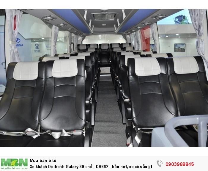 Xe khách Dothanh Galaxy 30 chổ   DH8S2   bầu hơi, xe có sẵn giao ngay