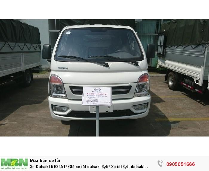 Xe Daisaki NH345T/ Giá xe tải daisaki 3,4t/ Xe tải 3,4t daisaki giá rẻ