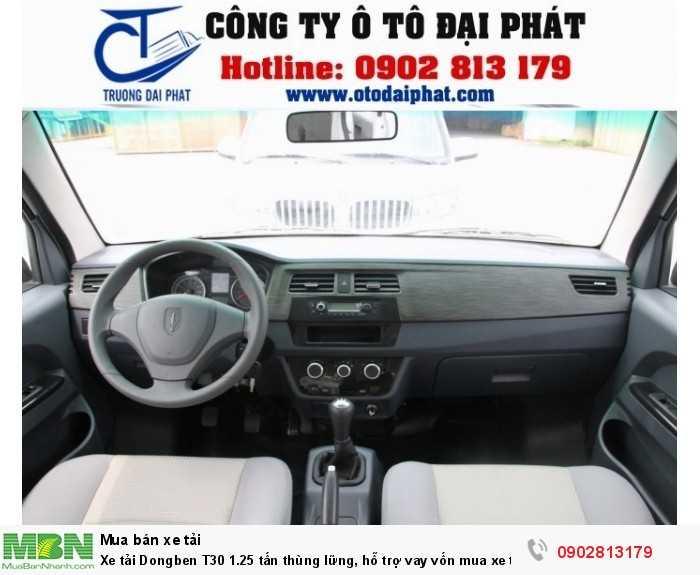 Bảng điều khiển xe được sắp xếp bày trí các chữ số, biểu tượng rõ ràng, sắc nét giúp lái xe kiểm soát xe dễ dàng hơn khi chạy xe.