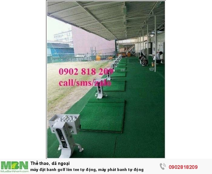 Máy đặt banh golf lên tee tự động, máy phát banh tự động1