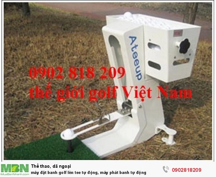 Máy đặt banh golf lên tee tự động, máy phát banh tự động2