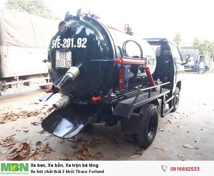 Xe hút chất thải 2 khối (2m3) Thaco Forland FLD250