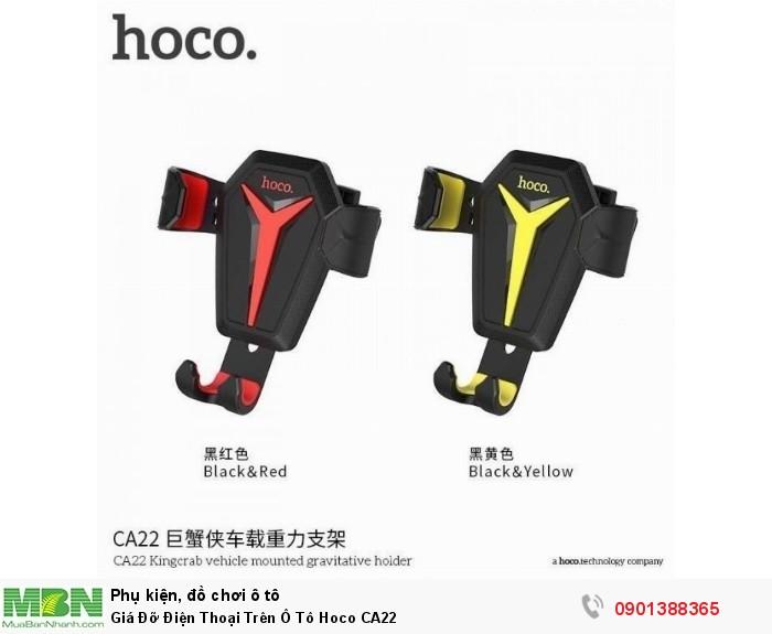 Giá Đỡ Điện Thoại Trên Ô Tô Hoco CA22