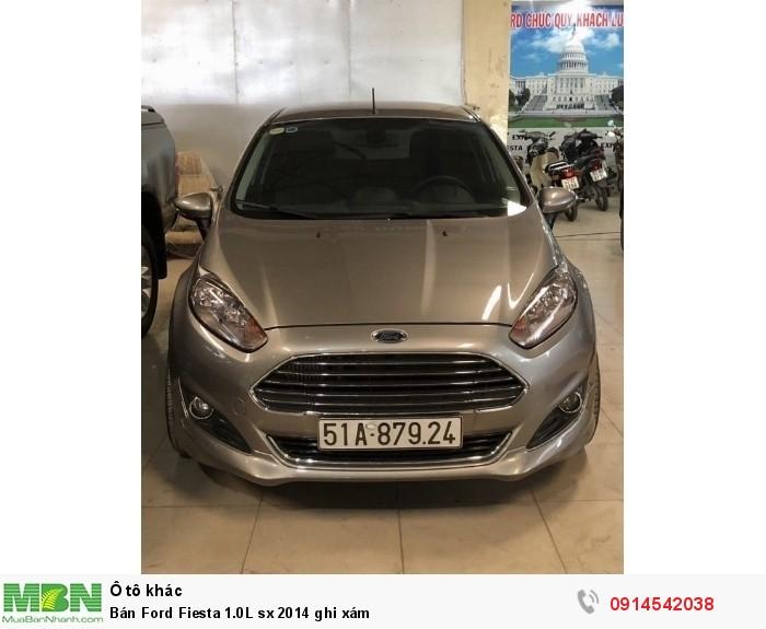 Bán Ford Fiesta 1.0L sx 2014 ghi xám