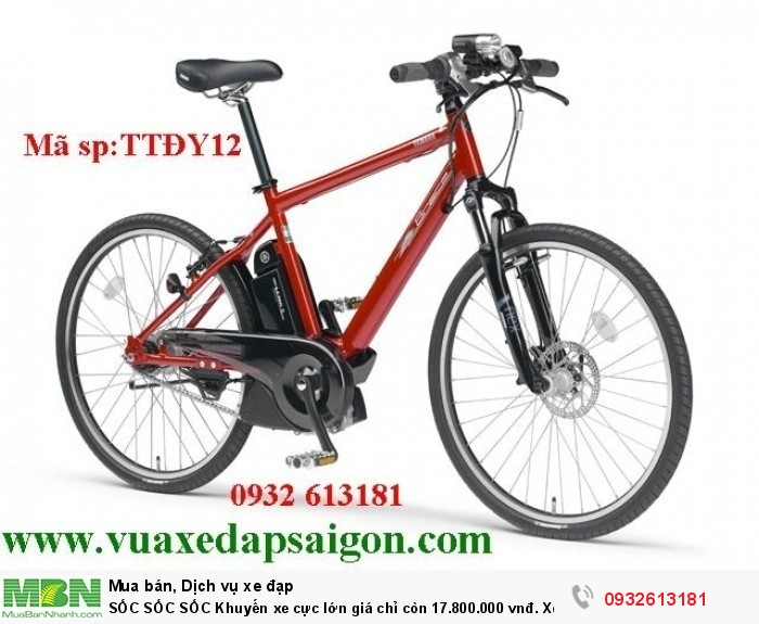 SỐC SỐC SỐC Khuyến xe cực lớn giá chỉ còn 17.800.000 vnđ. Xe đạp thể thao trợ lực điện: Pas Bracer