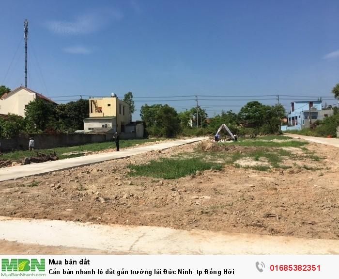 Cần bán nhanh lô đất gần trường lái Đức Ninh- tp Đồng Hới