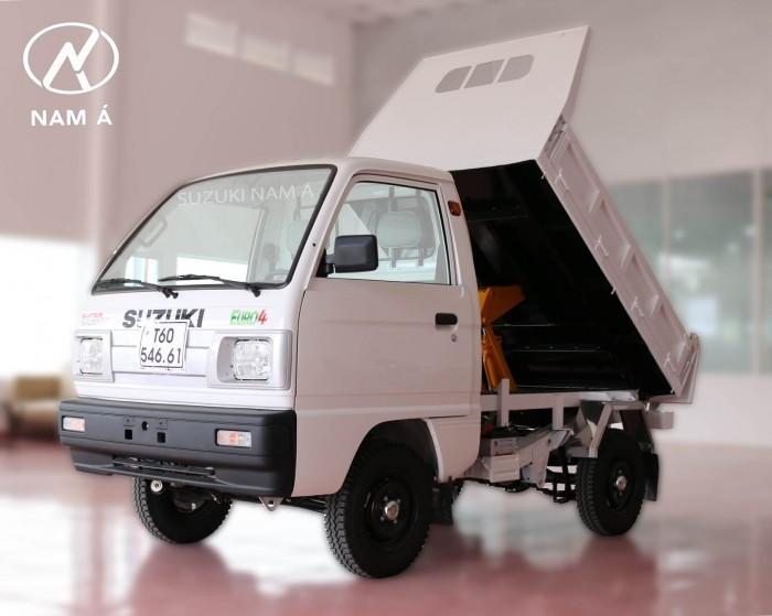 Suzuki Super Carry truck ben (thiết kế nhỏ gọn thuận tiện cho chuyên chở Vật Liệu Xây Dựng)