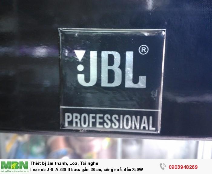 Loa Sub JBL A-835 II  là dòng thiết bị không thể thiếu trong karaoke gia đình, kinh doanh4