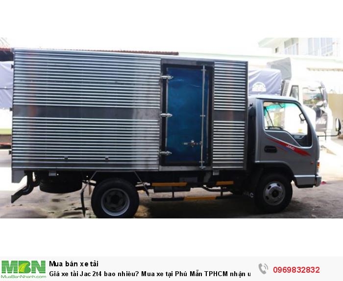 Xe tải Jac 2t4 thiết kế nhỏ gọn, cabin Isuzu, thiết kế khí động học, giúp chiếc xe giảm được lực cản của không khí, gió khi di chuyển, tiếp kiệm nhiên liệu tối đa - tư vấn cụ thể hơn gọi ngay Mr Độ 0969 832 832 (24/24)