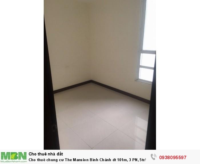 Cho thuê chung cư  The Mansion Bình Chánh dt 101m, 3 PN, 5tr/th. LH C.Chi