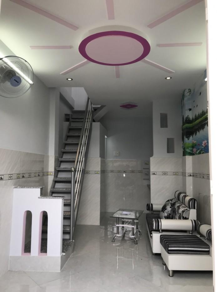 Nhà hẻm giá rẻ đường Phú Thọ Hòa , DT 3m x 6,75m