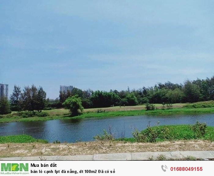 Bán lô cạnh FBT Đà Nẵng, dt 100m2 Đã có sổ