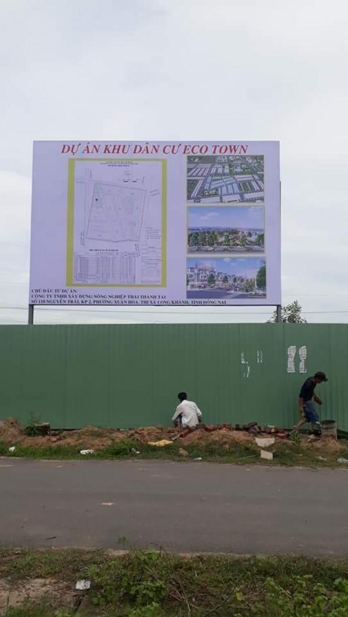 Eco Town Long Thành giá chỉ 12tr/m2, SHR,thổ cư 100%. chiết khẩu cao từ chủ đầu tư