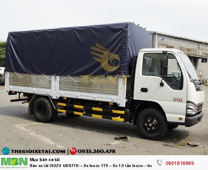 Bán xe tải ISUZU QKR77H Xe Isuzu 1.9-2.9 tấn, Thùng dài 4m36, Có sẵn, Giao ngay. Hỗ trợ trả góp tới 90%