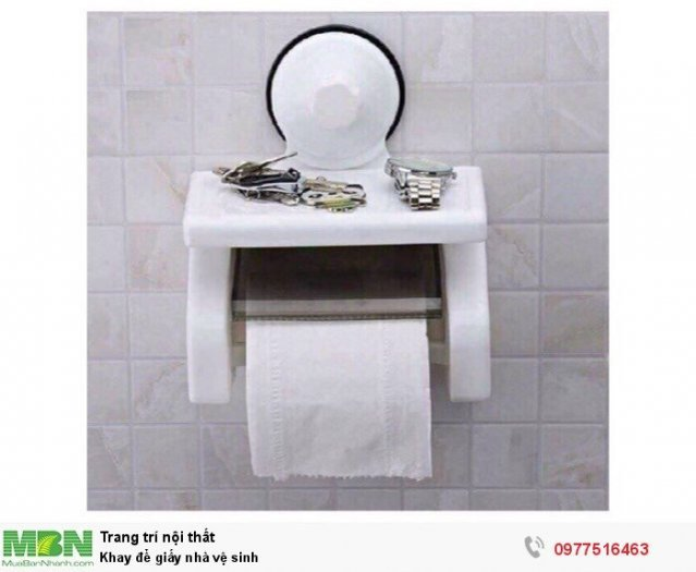 Khay để giấy nhà vệ sinh0