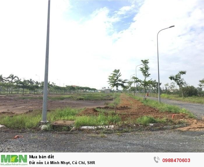 Đất nền Lê Minh Nhựt, Củ Chi, SHR