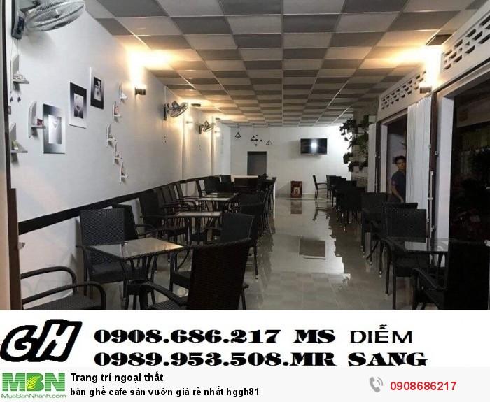 Bàn ghế cafe sân vườn giá rẻ nhất hggh81