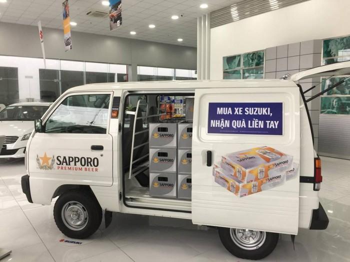 Suzuki Blind Van sản xuất năm 2008 Số tay (số sàn) Động cơ Xăng