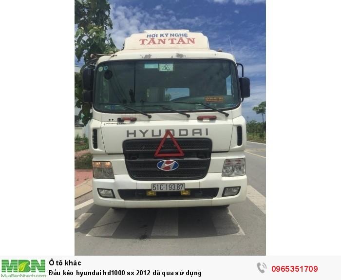 Đầu kéo Hyundai hd1000 sx 2012 đã qua sử dụng 2