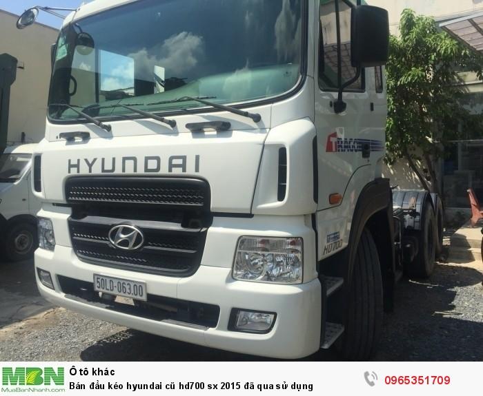 Bán đầu kéo Hyundai cũ hd700 sx 2015 đã qua sử dụng 3