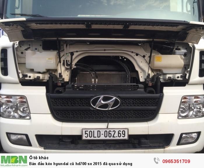 Bán đầu kéo Hyundai cũ hd700 sx 2015 đã qua sử dụng 10