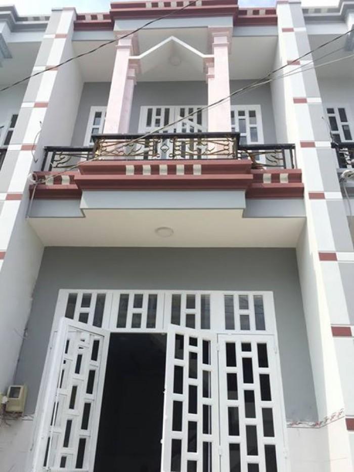 Bán nhà mới thiết kế cực kì sang trọng vị trí nằm sát chợ Bình Thành -  Bình Tân giá công nhân cho người thiện chí