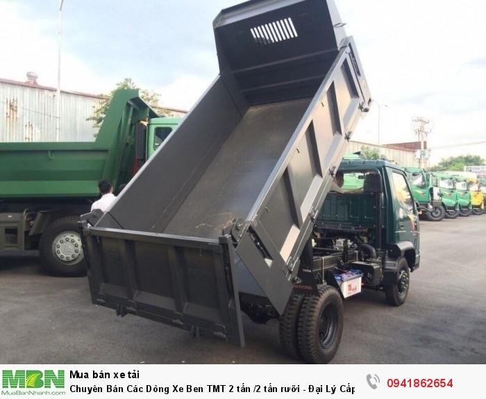 Chuyên Bán Các Dòng Xe Ben TMT 2 tấn /2 tấn rưỡi - Đại Lý Cấp 1 2