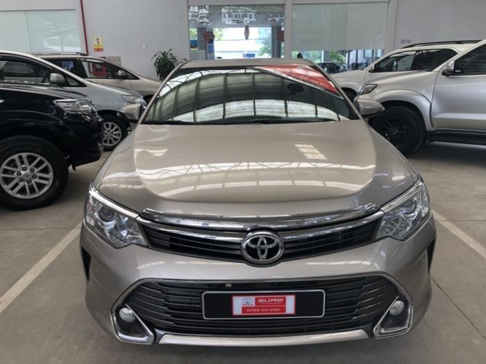 Toyota Camry 2.5q 2015 Màu Nâu Vàng, Có Trả Góp 70%