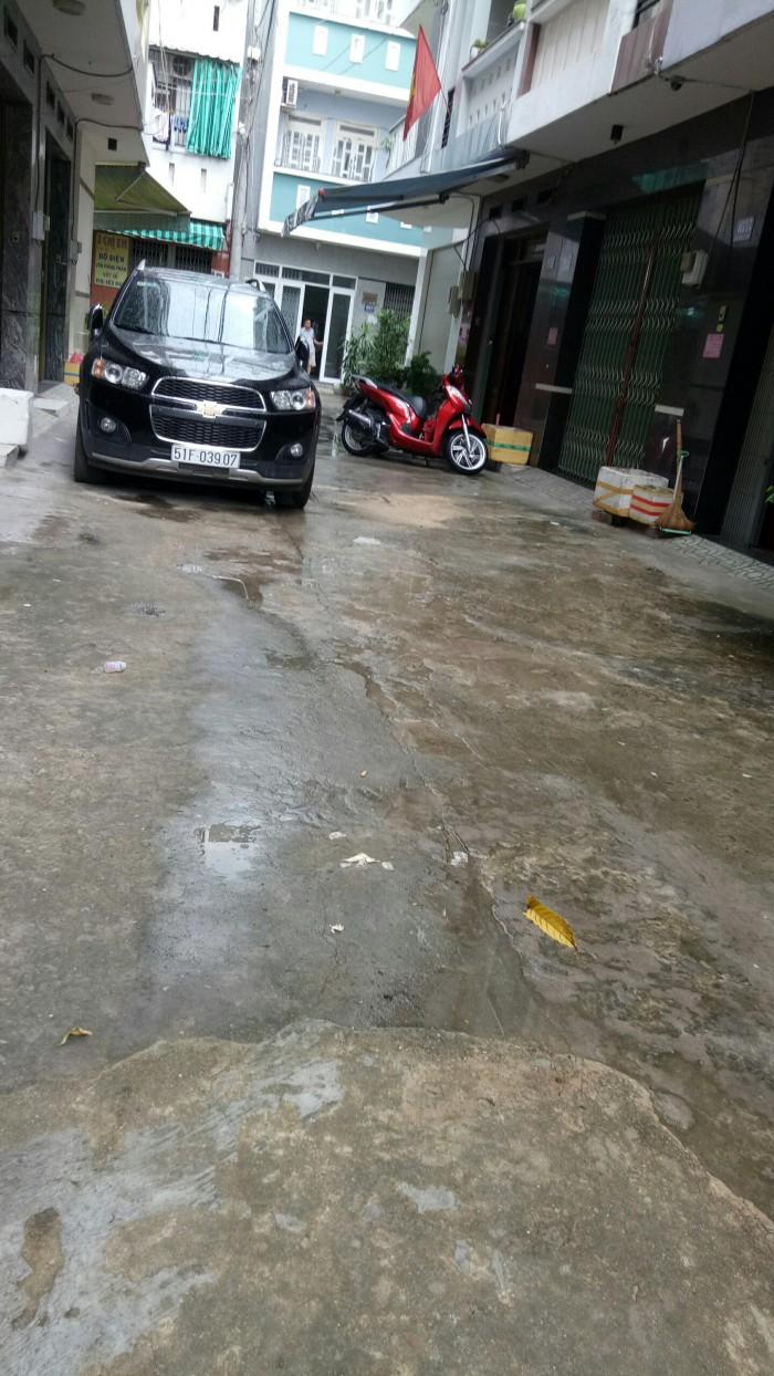 Nhà hẻm giá rẻ đường Tân Kỳ Tân Quý , DT 4m x 14,2m