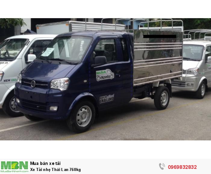 Xe Tải nhẹ Thái Lan 760kg