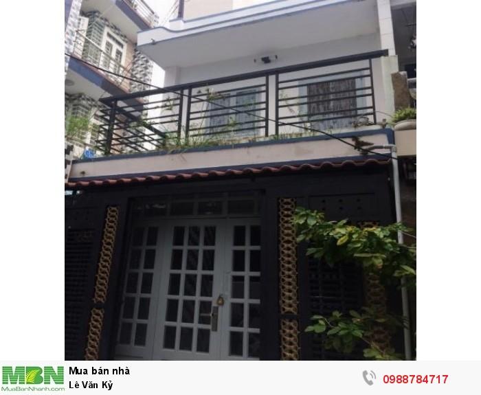 Nhà HXH Lạc Long Quân 5x10, 58m2x3 lầu, Phường 10 Tân Bình