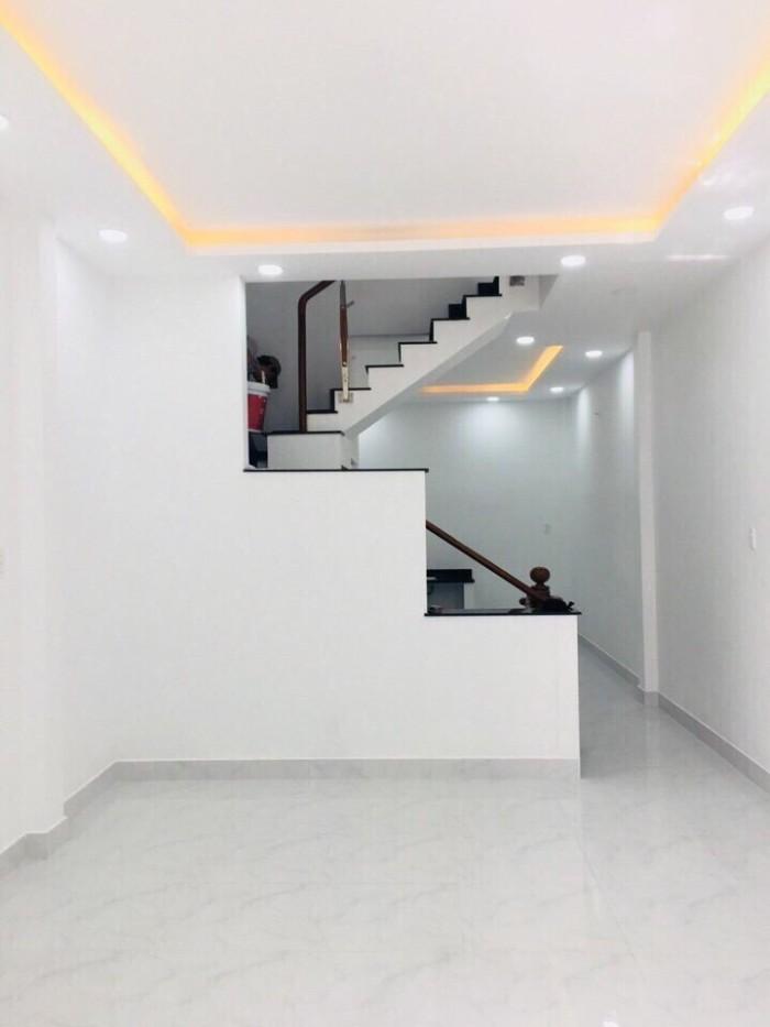 Nhà hẻm giá rẻ đường Gò Dầu , DT 4m x 14,2m