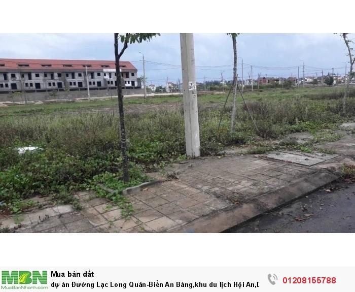 dự án Đường Lạc Long Quân-Biển An Bàng,khu du lịch Hội An,DT 350m2