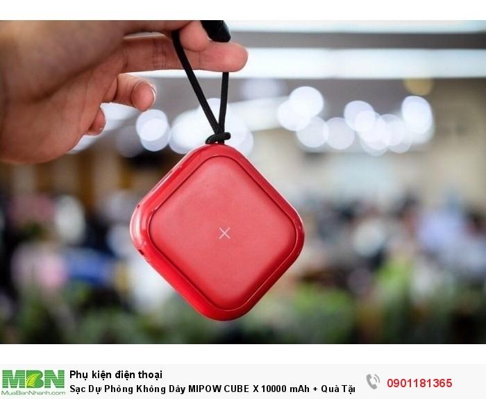 CUBE X 10000 khác biệt trong kiểu dáng thiết kế đầy trẻ trung, năng động, phá cách.0