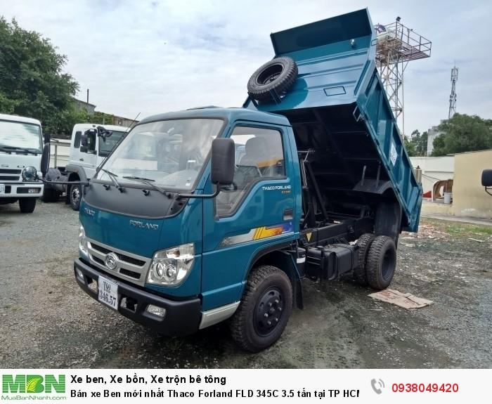Bán xe Ben mới nhất Thaco Forland FLD 345C 3.5 tấn tại TP HCM