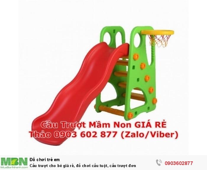 Cầu trượt cho bé giá rẻ, đồ chơi cầu tuột, cầu trượt đơn