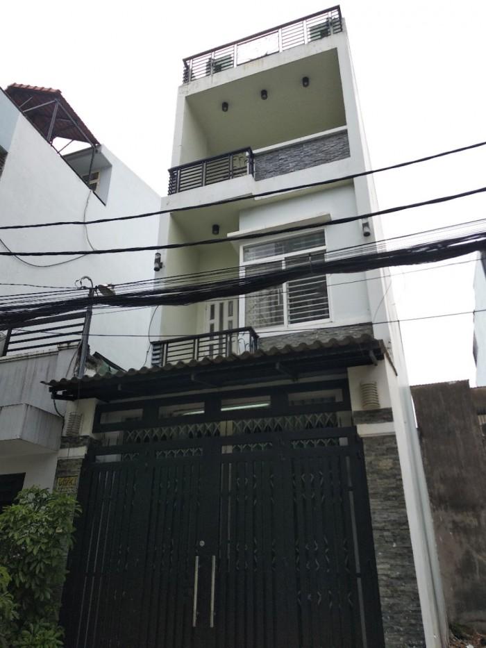 Cho thuê nhà giá rẻ đường Bờ Bao Tân Thắng ,DT 4m x 17m