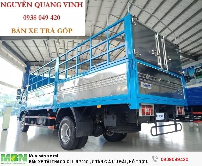 Bán Xe Tải Thaco Ollin 700c  Tải trọng 7tấn - Giá ưu đãi , Hổ Trợ Mua Xe Trả Góp 4