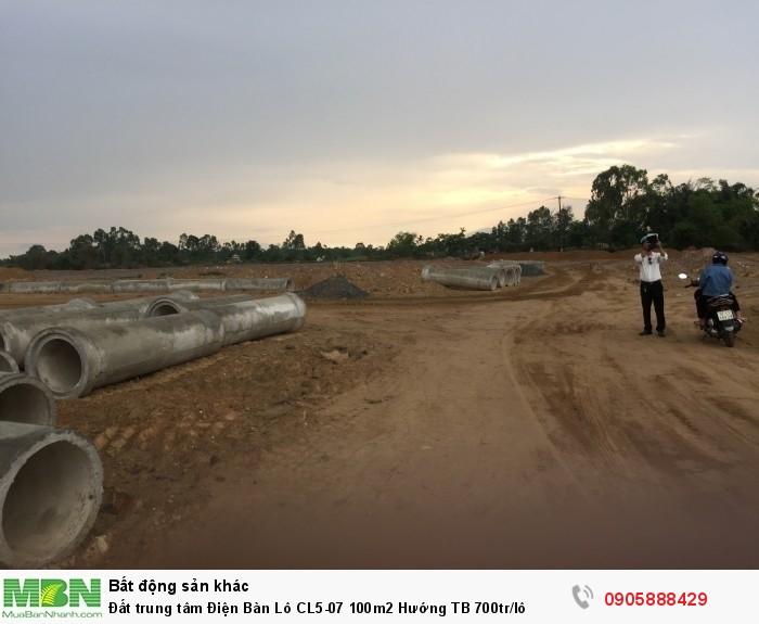 Đất trung tâm Điện Bàn Lô CL5-07 100m2 Hướng TB 700tr/lô