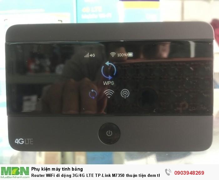 màn hình TFT, nhìn thấy trạng thái của thiết bị, như:  - Cường độ sóng Wifi,  - Mạng đang sử dụng (4G/ 3G/ 2G), - Tin nhắn, Internet, lưu lượng và mức Pin.