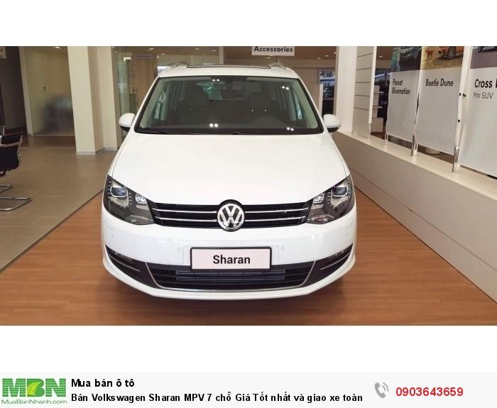 Bán Volkswagen Sharan MPV 7 chỗ Giá Tốt nhất và giao xe toàn quốc, hỗ trợ vay đến 85%