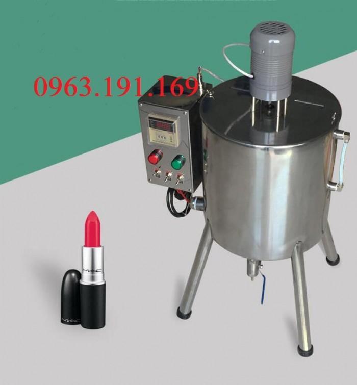 Nồi nấu khuấy trộn chiết rót son môi, kem mỹ phẩm1