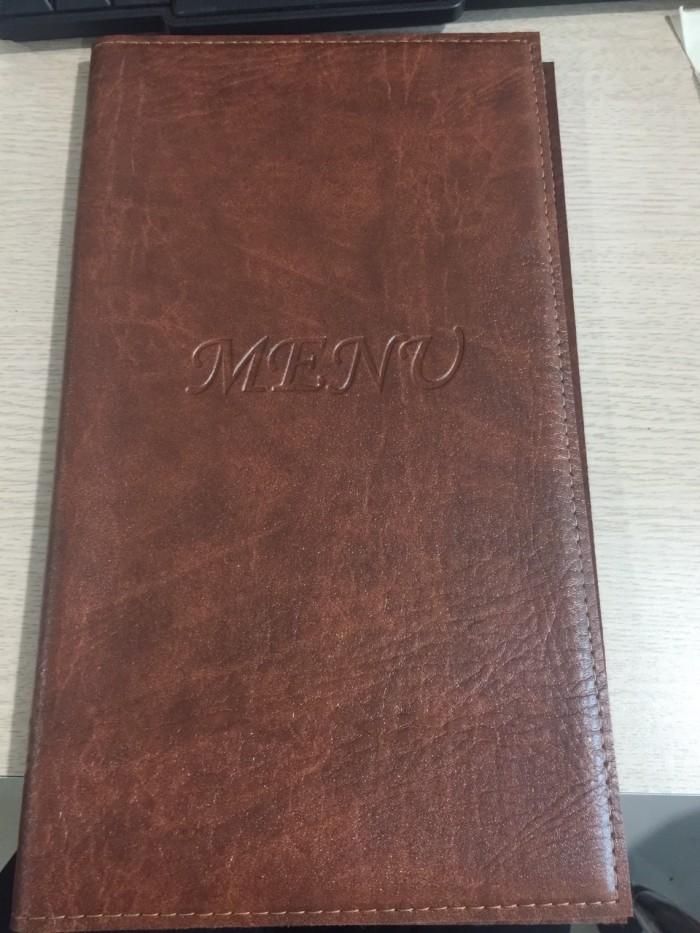 Bán bìa menu da,bìa menu nhà hàng, khách sạn,spa1