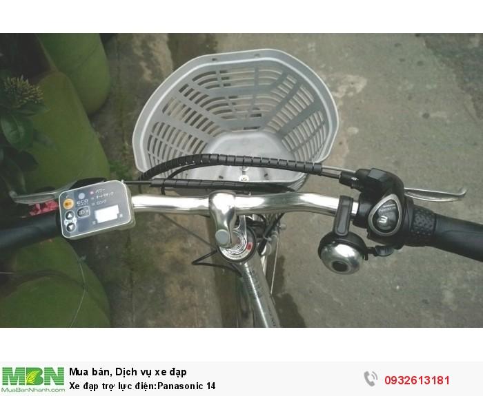 Xe đạp trợ lực điện:Panasonic 14