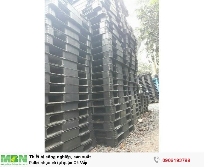 Pallet nhựa cũ tại quận Gò Vấp, giao hàng toàn quốc - Hotline: 0906193788 (24/24)