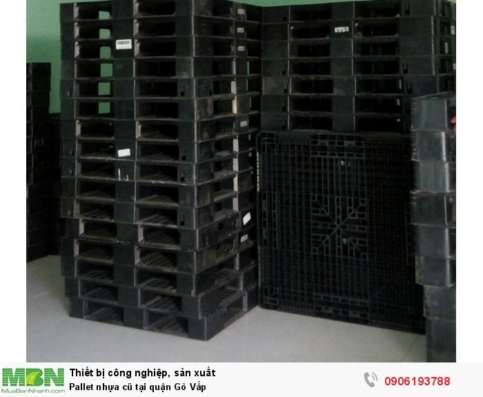 Pallet nhựa cũ tại quận Gò Vấp - Hotline: 0906193788 (24/24)